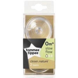 Tommee Tippee Náhradní savičky C2N pomalý průtok 0+ 2ks