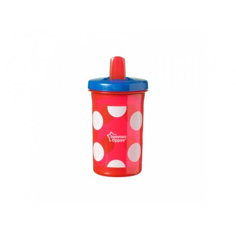 Tommee Tippee Hrnek Free Flow Supper Sipper 300ml 6m+ Modrá