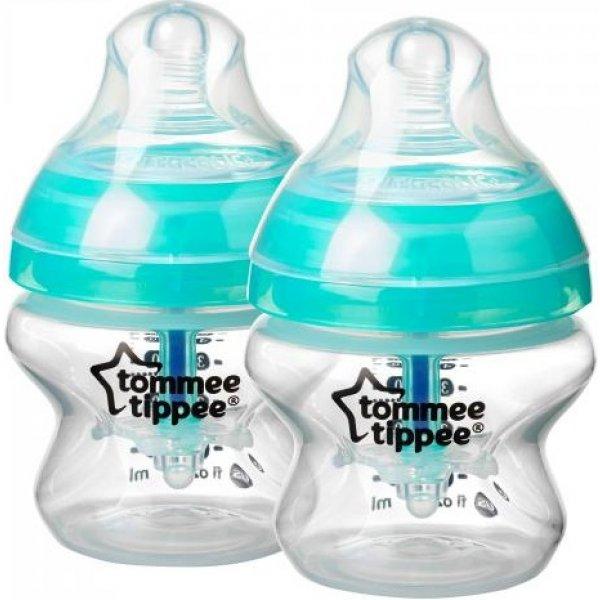 Tommee Tippee Kojenecká láhev Advanced Anti-Colic 2ks 150ml 0m+ Modrá